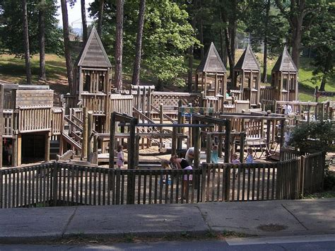 swing asheville this is a playground in asheville that we have visited a