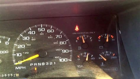 erratic temp gauge on 1993 chevy 1500 youtube 1997 chevy tahoe fuel gauge problem youtube