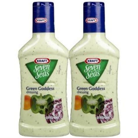 Kraft Green Goddes Dressing kraft seven seas green goddess dressing 16 ounce plastic