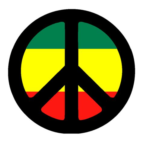 rasta peace sign tattoo design by xx jd xx on deviantart