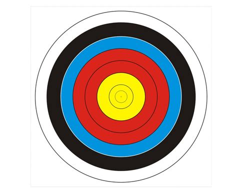 Free Printable Shooting Targets Pdf Shooting Target Template