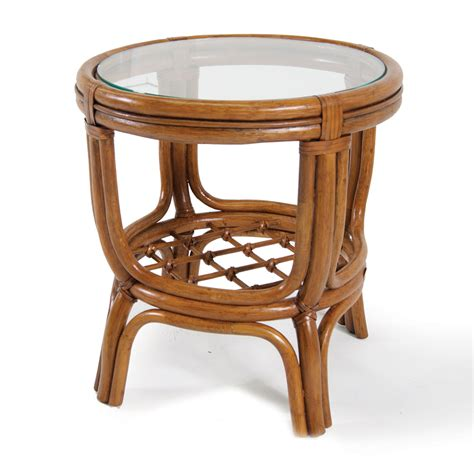 wicker basket end tables side table with glass top accent table with glass