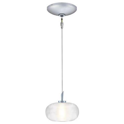Menards Pendant Lights Jesco 1 Light 98 75 Quot H Satin Nickel Low Voltage Pendant Kit At Menards 128 Lights