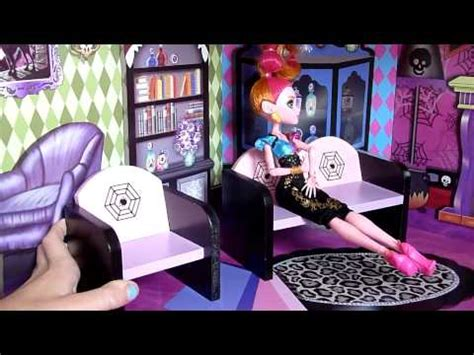 make monster high doll house quot monster high quot haunted mansion doll house review youtube