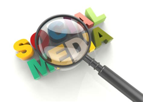 Free Social Media Background Check Social Media And Magnifying Glass