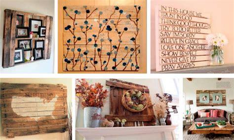 comprar palets decoracion formas ingeniosas de reutilizar los palets para decorar