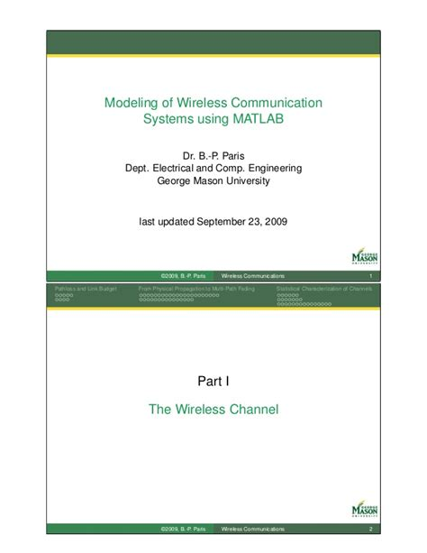 modeling and simulation of systems using matlab and simulink books wireless channel modeling matlab simulation approach