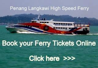 ferry penang to langkawi penang langkawi ferry timetable duration ticket price