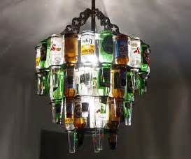 Recycled Chandelier Ideas 34 Fascinating Upcycling Diy Wine Bottle Projects To