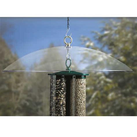bird feeder house baffles squirrel raccoon guards