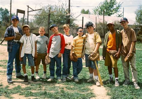 what of is in the sandlot alex jowski reviews the sandlot 1993