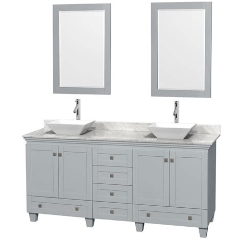 72 inch sink vanity accmilan 72 inch sink bathroom vanity in grey