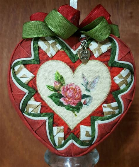 Handmade Fabric Ornaments - 201 best images about quilted handmade ornaments on