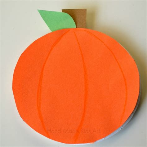 Construction Paper Pumpkin Crafts - how to make 3 easy paper plate pumpkins steam lab