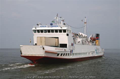 boot ameland vaartijd veerboot eemshaven borkum 171 veerbootinfo nl