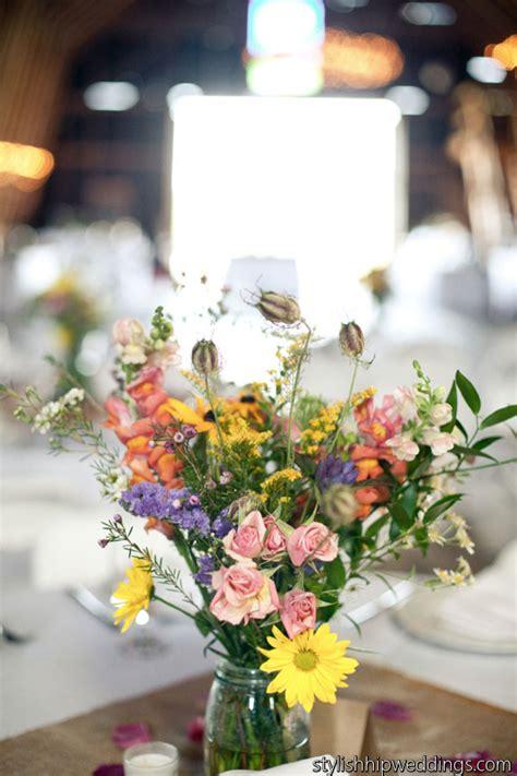 august  wildflower wedding month