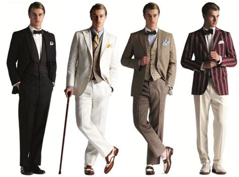 the grat gabsy theme prom for guys how to dress for the great gatsby art deco design