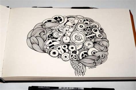 doodle brain doodled brain by munnbel doodle sketches