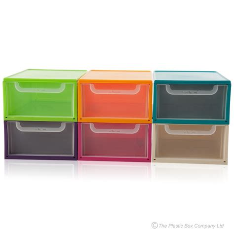 Plastic Stacking Drawers by Buy 8lt Single Plastic Drawer Unit Plastic Shoe Storage Unit
