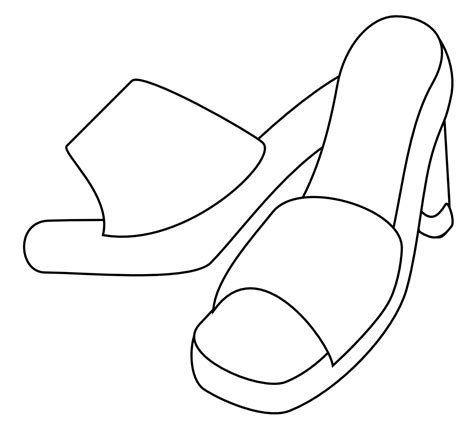 pattern for paper high heels free digi and pattern high heels