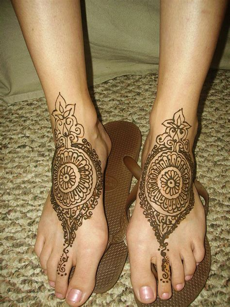 henna design tattoos on feet henna tattoos