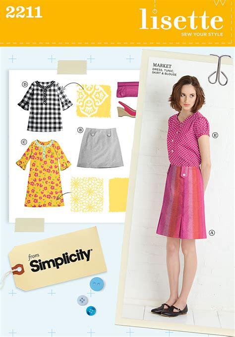 pattern review lisette simplicity 2211 misses sportswear