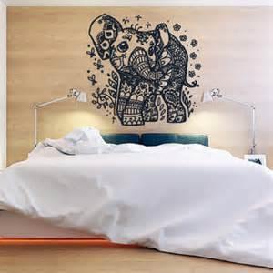 elephant bedroom c wall decor vinyl sticker room decal from stickersforlife