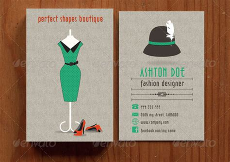 best templates for business fashion cards 25 cool psd retro vintage business card templates