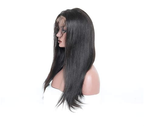 plucked hair photos 360 lace wigs 18 inch pre plucked natural hair line light