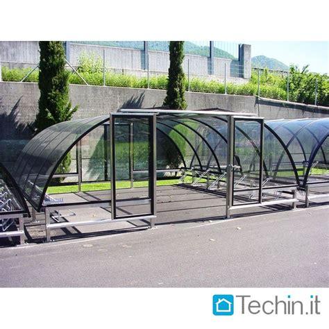 tettoie per biciclette tettoia bicipark pensilina plexiglass tettoia bici moto