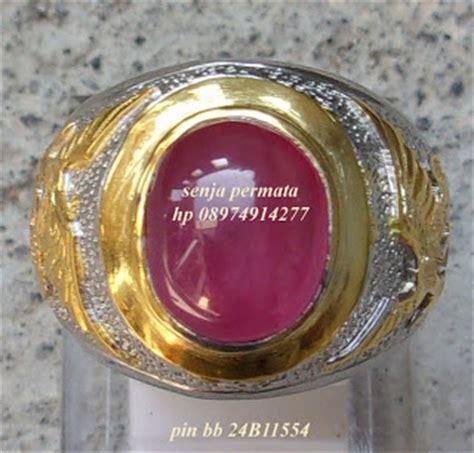 Akik Permata Batu Cincin Ruby Sri Lanka Untreated Bt166 cincin mewah ruby terjual batu permata batu mulia akik antik asli senja permata
