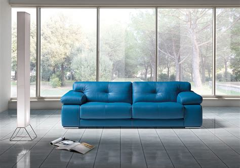 blue italian leather sofa blue italian leather sofa designer italian leather sofa