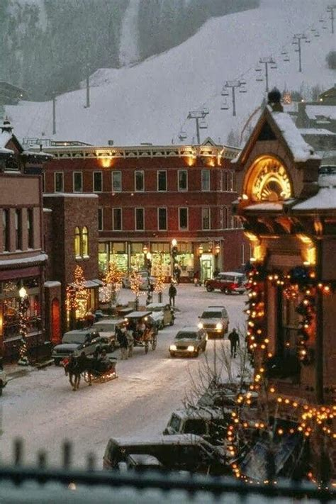 aspen colorado christmas pinterest