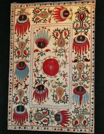 uzbek rug ebay antique uzbek suzani very rare design silk embroidery