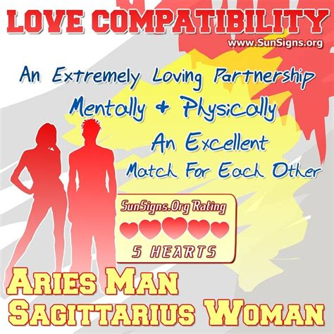 sagittarius woman and cancer man in bed aries man and sagittarius woman love compatibility sun signs