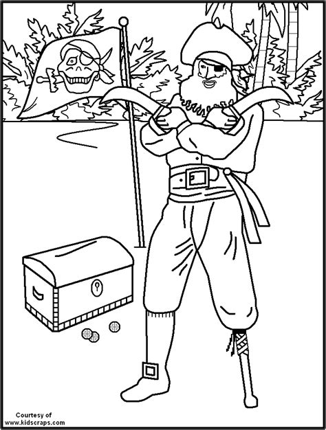 free printable pirate coloring pages great for kids