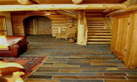 log floor log cabin slate floor log cabin interiors log cabin