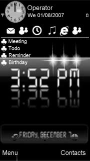 digital clock themes mobile9 download digital clock nokia theme mobile toones