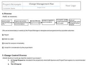 project change management plan template perform project integrated change templates