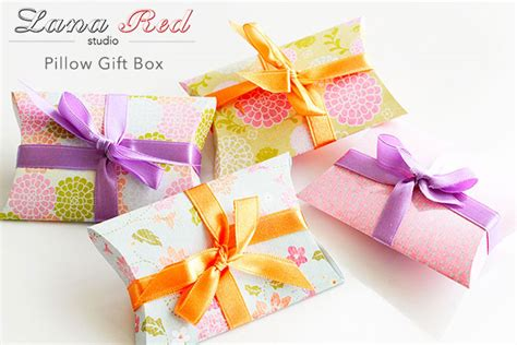 gift card pillow box template custom gift card packaging boxes