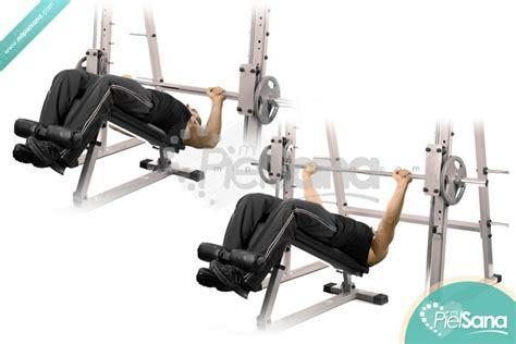 machine bench press decline smith machine bench press