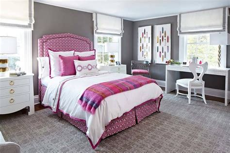 pink and gray bedrooms pink and gray bedroom with desk contemporary bedroom farrow and ball moles breath