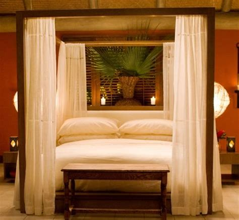 four poster bed with curtains love this modern four poster bed with curtains want it