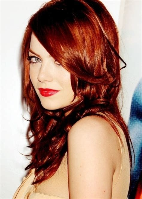 2014 winter 2015 hairstyles and hair color trends vpfashion 2014 fall winter 2015 auburn hair color trends