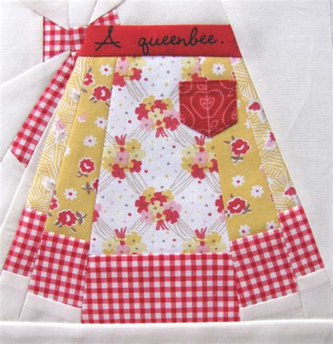 pattern paper etsy vintage apron paper pieced pattern by charisecreates on etsy
