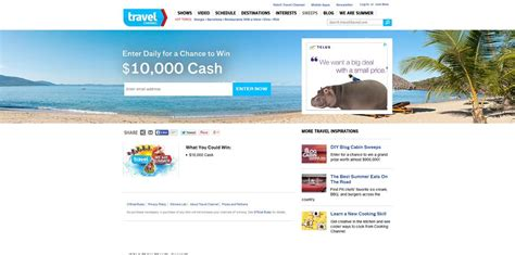 Travel Channel Sweepstakes Entry - travel channel we are summer sweepstakes there are 10 000 good reasons to enter this