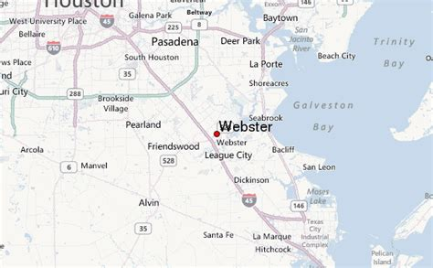 map of webster texas webster texas location guide