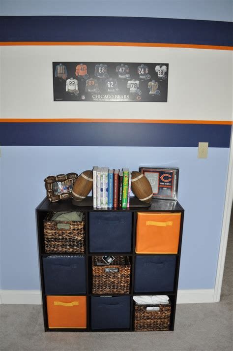 chicago bears bedroom storage for chicago bears room decorating ideas pinterest