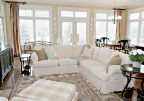 Slipcovers That Fit Pottery Barn Sofas Beaux R Eves Pottery Barn Knock Off Jcpenney Slipcovered