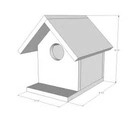 simple bird house plans white kit project 2 birdhouse diy projects